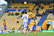 Mansfield Town forward Matt Green (10) during the EFL Sky Bet League 2 match between Mansfield Town and Crawley Town at the One Call Stadium, Mansfield, England on 19 November 2016. Photo by Simon Trafford.