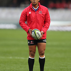 Elton Jantjies of the Emirates Lions during the Vodacom Super Rugby match between the Cell C Sharks and the Emirates Lions the at Growthpoint Kings Park in Durban, South Africa. 15th July 2017(Photo by Steve Haag)