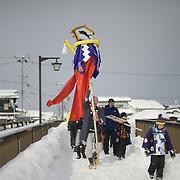 Bonden, Yokote Snow Festival in Akita prefecture