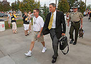 September 12, 2009: Iowa head coach Kirk Ferentz before the game between the Iowa Hawkeyes and the Iowa State Cyclons at Jack Trice Stadium in Ames, Iowa on September 12, 2009.