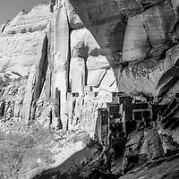 Beta Tankin Navajo National Monument in Arizona in the early morning