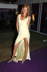 OLIVIA INGE at The Summer Ball in Berkeley Square , Londin W1 in aid of the Prince's Trust on 6th July 2006.<br />