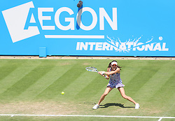 Agnieszka Radwanska in action - Mandatory by-line: Paul Terry/JMP - 24/06/2016 - TENNIS - Devonshire Park - Eastbourne, United Kingdom - Agnieszka Radwanska v Dominika Cibulkova - Aegon International Eastbourne