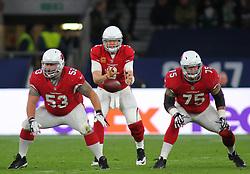 LONDON, ENGLAND - OCTOBER 22: Arizona Cardinals quarterback Carson Palmer (3) during the NFL match between the Arizona Cardinals and the Los Angeles Rams at Twickenham Stadium on October 22, 2017 in London, United Kingdom. (Photo by Mitchell Gunn/ESPA-Images) *** Local Caption ***
