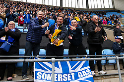 Bristol Rovers fans at Coventry City - Mandatory by-line: Robbie Stephenson/JMP - 07/04/2019 - FOOTBALL - Ricoh Arena - Coventry, England - Coventry City v Bristol Rovers - Sky Bet League One