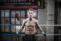21.02.14 Pro boxer, Tommy Martin photo shoot