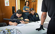 Police checking guns to see if they are in working condition at a New Orleans at a gun buyback event called for by New Orleans Mayor  LaToya Cantrell. The line started at 5:30.  Only 200 of the more than 1000 people who turned out were able to claim the $500 offered for any gun in working condition turned in. When the Mayor first announced the buyback program no limits were put on how many guns you could bring in for $500. That was changed to $500 maximum payout to any one who could prove residency in Orleans Parish.