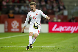 October 8, 2017 - Warsaw, Poland - Lukasz Piszczek of Poland in action during the FIFA World Cup 2018 Qualifying Round Group E match between Poland and Montenegro at National Stadium in Warsaw, Poland on October 8, 2017  (Credit Image: © Andrew Surma/NurPhoto via ZUMA Press)