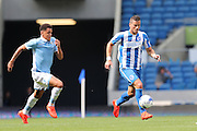 Brighton & Hove Albion's Tomer Hemed during the Pre-Season Friendly match between Brighton and Hove Albion and SS Lazio at the American Express Community Stadium, Brighton and Hove, England on 31 July 2016.