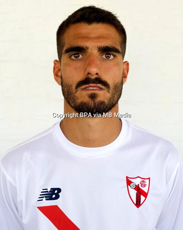 Spain - La Liga B 123 _ 2016-2017 / <br /> ( Sevilla Atletico ) - <br /> Bernardo Victor Cruz Torres &quot; Bernardo Cruz &quot;