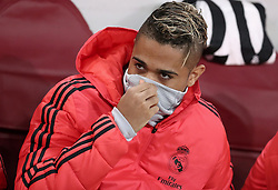 November 27, 2018 - Rome, Italy - AS Roma v FC Real Madrid : UEFA Champions League Group G.Mariano Diaz of Real Madrid on the bench at Olimpico Stadium in Rome, Italy on November 27, 2018. (Credit Image: © Matteo Ciambelli/NurPhoto via ZUMA Press)