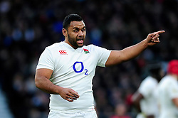Billy Vunipola of England - Mandatory byline: Patrick Khachfe/JMP - 07966 386802 - 27/02/2016 - RUGBY UNION - Twickenham Stadium - London, England - England v Ireland - RBS Six Nations.