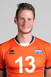 20160516 NED: Selectie Nederlands volleybal team mannen, Arnhem<br />Floris van Rekom