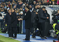 January 16, 2019 - Leganes, Madrid, Spain - Pellegrino  of Leganes expelled during the King Spanish championship, , football match between Leganes and Real Madrid on January 16th at Butarque Stadium in Leganes, Madrid, Spain. (Credit Image: © AFP7 via ZUMA Wire)