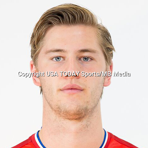 Feb 25, 2016; USA; FC Dallas player Walker Zimmerman poses for a photo. Mandatory Credit: USA TODAY Sports