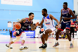 Gentry Thomas of Bristol Flyers - Photo mandatory by-line: Ryan Hiscott/JMP - 17/01/2020 - BASKETBALL - SGS Wise Arena - Bristol, England - Bristol Flyers v London City Royals - British Basketball League Championship