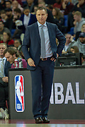 Washington Wizards head coach Scott Brooks during the NBA London Game match between Washington Wizards and New York Knicks at the O2 Arena, London, United Kingdom on 17 January 2019.