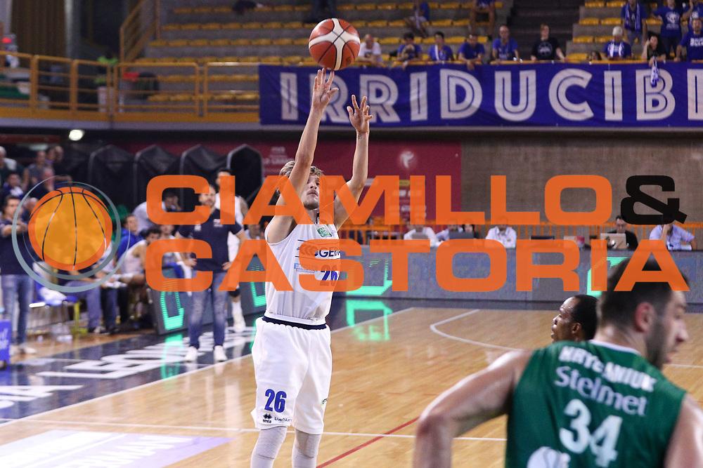 Traini Andrea, Germani Basket Brescia vs Stelmet Zielona Gora, 2 edizione Trofeo Roberto Ferrari, PalaGeorge di Montichiari 22 settembre 2017