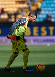 February 3, 2019 - Villarreal, Castellon, Spain - Santiago Cazorla of Villarreal prior the La Liga match between Villarreal and Espanyol at Estadio de la Ceramica on February 3, 2019 in Vila-real, Spain. (Credit Image: © Maria Jose Segovia/NurPhoto via ZUMA Press)