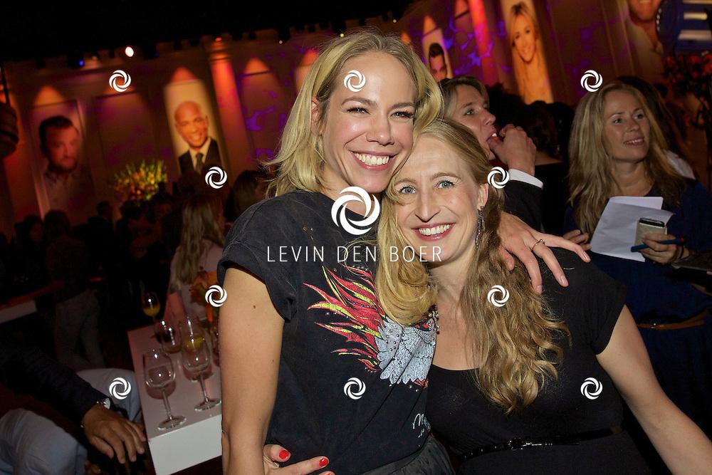 HILVERSUM - In Studio 21 is de jaarlijkse perspresentatie gehouden van RTL Nederland. Met hier op de foto  Nicolette Kluijver. FOTO LEVIN DEN BOER - KWALITEITFOTO.NL