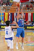 Campionato Europeo Maschile Under 20 Italia-Serbia<br /> Lorenzo D'Ercole