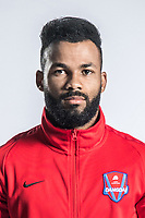 **EXCLUSIVE**Portrait of Brazilian soccer player Luiz Fernandinho of Chongqing Dangdai Lifan F.C. SWM Team for the 2018 Chinese Football Association Super League, in Chongqing, China, 27 February 2018.