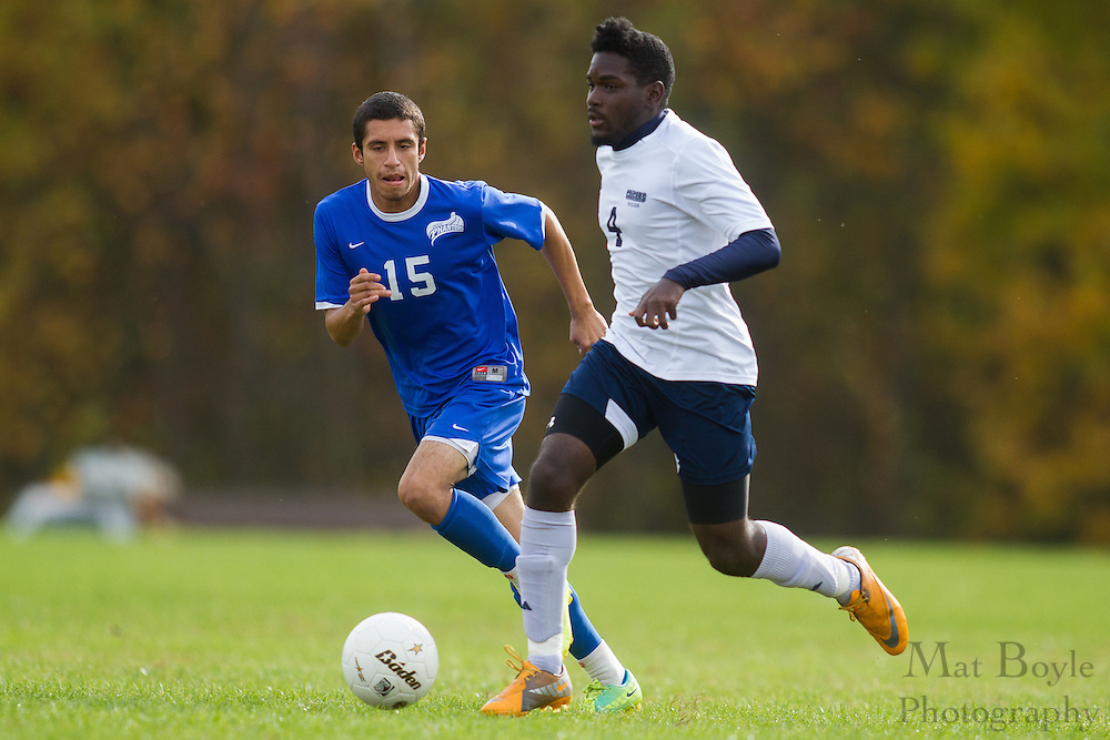 Camden County College vs Deleware County College on Wednesday October 17, 2012. (photo / Mat Boyle)
