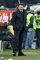 """Walter Mazzarri Napoli.Milano 09/12/2012 Stadio """"San Siro"""".Football Calcio Serie A 2012/13.Inter v Napoli.Foto Insidefoto Paolo Nucci."""