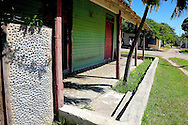 Street in Campechuela, Granma, Cuba.