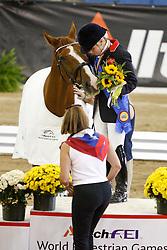 Wells Sophie (GBR) - Pinocchio<br /> Alltech FEI World Equestrian Games <br /> Lexington - Kentucky 2010<br /> © Hippo Foto - Leanjo de Koster