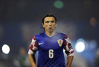 Fussball International, Nationalmannschaft   EURO 2012 Play Off, Qualifikation, Kroatien - Tuerkei       15.11.2011 Danijel Pranjic  (Kroatien)