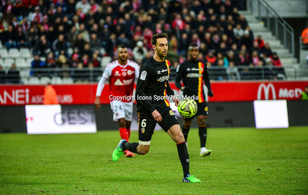Jerome LE MOIGNE - 25.01.2015 - Reims / Lens  - 22eme journee de Ligue1<br /> Photo : Dave Winter / Icon Sport *** Local Caption ***