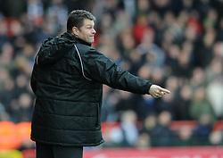Bristol City manager, Steve Cotterill - Photo mandatory by-line: Dougie Allward/JMP - Mobile: 07966 386802 - 25/01/2015 - SPORT - Football - Bristol - Ashton Gate - Bristol City v West Ham United - FA Cup Fourth Round