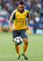 Football - 2016/2017 Premier League - Leicester Ciity V Arsenal. <br /> <br /> Santi Cazorla of Arsenal at The King Power Stadium.<br /> <br /> COLORSPORT/DANIEL BEARHAM