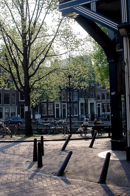 Street scene Amsterdam, Holland.