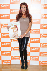 Amy Childs TOWIE star meets the fans and signs copies of her Official 2012 Calendar at Clintons, Bluewater shopping center, Kent, Saturday November 12, 2011. Photo By i-Images