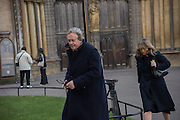 THE DUKE AND DUCHESS OF MARLBOROUGH, Service of Thanksgiving for the life of Edward Baron Montagu of Beaulieu. St. Margaret's Westminster. London. 20 January 2016