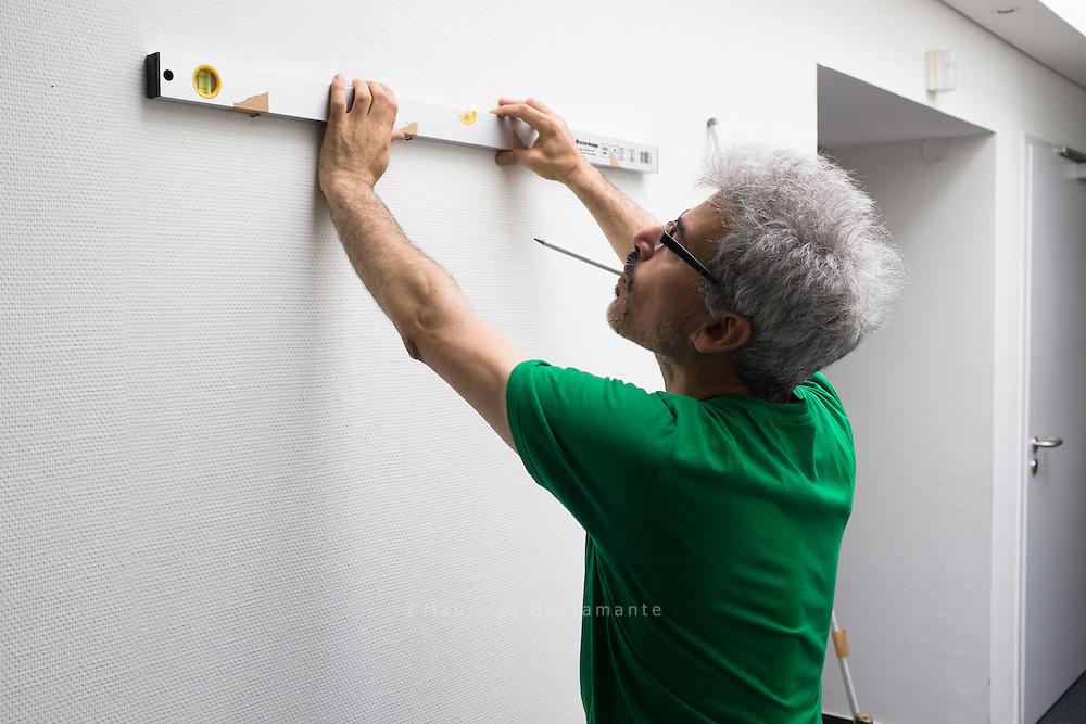 @mauricio_bustamante stellt als nächster Künstler seine Werke auf dem Senatorenflur unserer Behörde aus.    Hamburger Behörde  für Arbeit, Soziales, Familie und Integration.  (BASFI). Hamburger Straße 47, 22083 Hamburg.