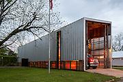 Newbern Volunteer Fire Station, built in 2004. |  Architect: Rural Studio
