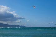 Kiteboarding, Kanaha Beach Park, Maui, Hawaii