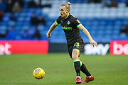 Forest Green Rovers Joseph Mills(23) on the ball during the EFL Sky Bet League 2 match between Oldham Athletic and Forest Green Rovers at Boundary Park, Oldham, England on 12 January 2019.