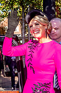 24-10-2018 King Willem-Alexander and Queen Maxima of The Netherlands visit Brixton in London, United Kingdom, 24 October 2018. The Dutch King and Queen are in the United Kingdom for an two day official state visit. Photo: Robin Utrecht
