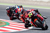 Simone Corsi of Italy and Speed Up Racing Team during the race of  Moto2 of Catalunya at Circuit de Catalunya on June 11, 2017 in Montmelo, Spain.(ALTERPHOTOS/Rodrigo Jimenez)