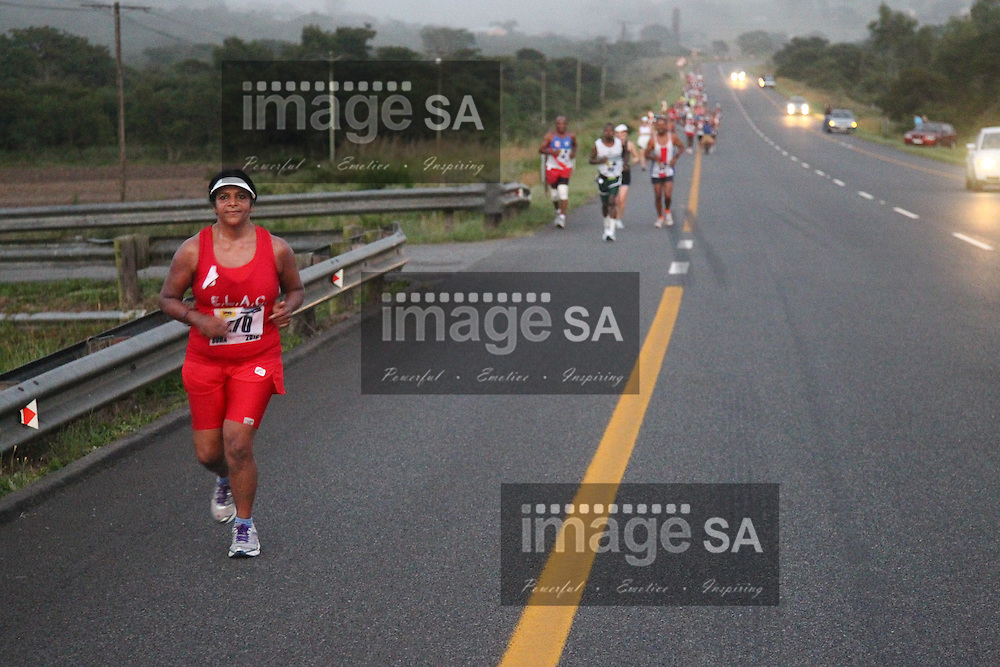 EAST LONDON, SOUTH AFRICA, Saturday 25 February 2011,  during the Old Mutual Buffs Marathon hosted by the Buffs Club..Photo by Roger Sedres/ImageSA/Old Mutual