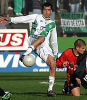 Fotball<br /> Argentina<br /> 02.08.2003<br /> Banfield v Newells<br /> Jorge Cervera<br /> Foto: Digitalsport
