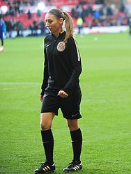 SIAN MASSEY ELLIS REFEREE,  Nottingham Forest v Arsenal Emirates FA Cup Third Round, City Ground Sunday 7th January 2018