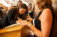 First year Western Law students gather for the law school's Professionalism Ceremony in London Ontario, Tuesday,  September 4, 2018.<br /> Western Law/ Geoff Robins
