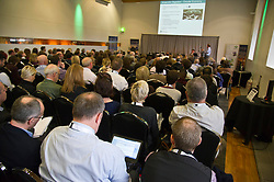 Pictured: <br />  Cabinet Secretary Roseanna Cunningham joined a number of speakers addressing the The Land Use and Environment Conference, entitled Rewarding the Delivery of Public Goods - How to Achieve This in Practice in Edinburgh Toiday.  The conference was coordinated by Scotland's Rural College. <br /> <br /> <br /> Ger Harley | EEm 28 November 2018
