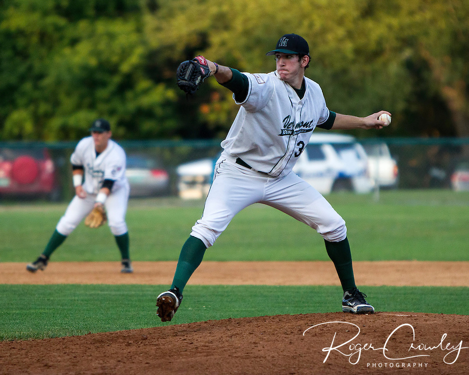 Danbury's Tyler Gurman drove in four runs as the Danbury Westerners defeated the Vermont Mountaineers 6-4 in New England Collegiate Baseball League (NECBL) action on Friday night.