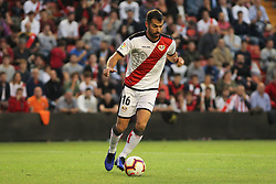 October 24, 2018 - Madrid, Madrid, SPAIN - Amat of Rayo Vallecano  in action during the spanish league, La Liga, football match between Rayo Vallecano and Athletic de Bilbao on October 24, 2018 at Estadio de Vallecas in Madrid, Spain. (Credit Image: © AFP7 via ZUMA Wire)